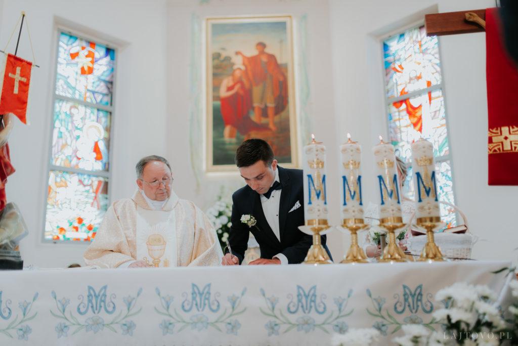 Ślub w Janowcu